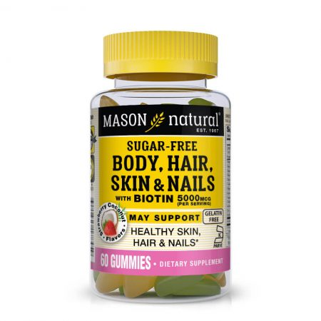 Body, Hair, Skin & Nails Kosher With Biotin 5000 MCG