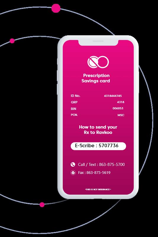 Mobile Saving card